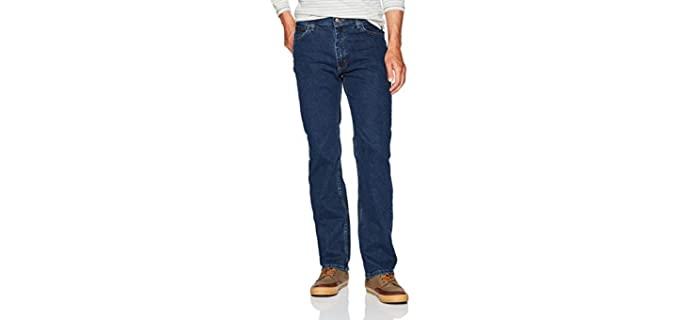 Wrangler Men's Comfort Flex - Regular Fit Beer Belly Jeans