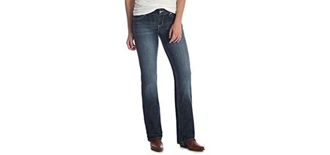 Wrangler Women's Western Stretch - Jeans for Concealed Carry
