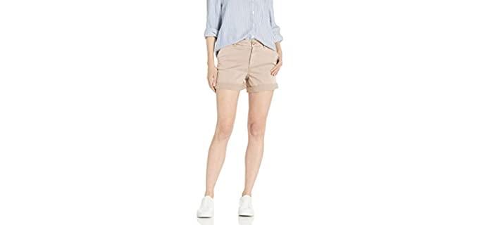 Amazon Brand Women's Goodthreads - Skinny Leg Chino Shorts