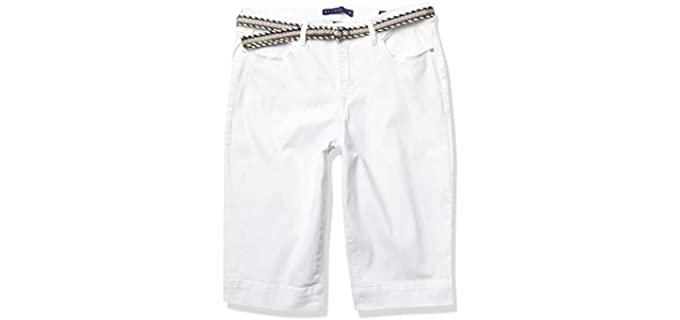 Bandolino Women's Lisbeth - Shorts for Curvy Women