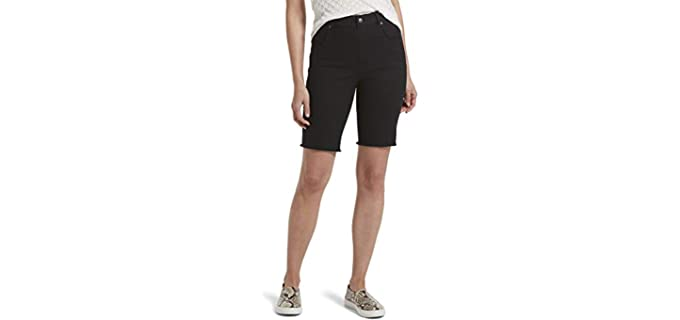 Hue Women's Ultra Soft - Shorts for a Curvy Body