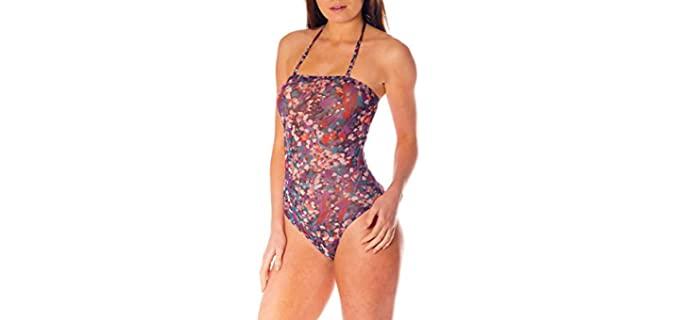 Kiniki Women's Elba - Tan Through Bathing Suit