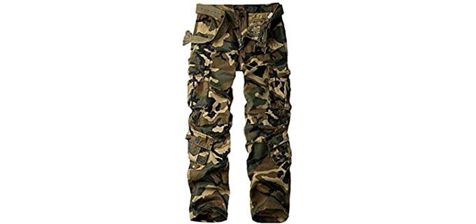Raroaouf Women's Military - Tactical Cargo Pants