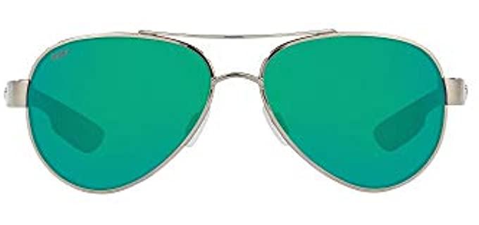 Costa del Mar Women's Loreto - Small Aviator Sunglasses