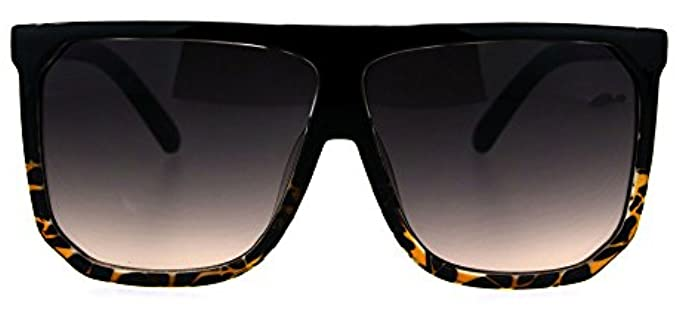 Pastl Unisex Oversized - Large Flat Top Sunglasses