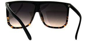 Large Flat Top Sunglasses