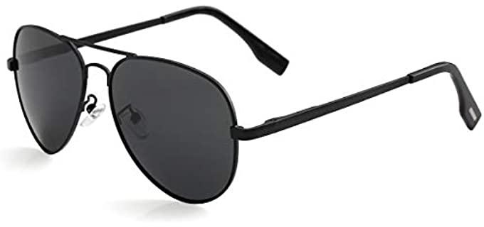 Kursan Store Men's  - Small Aviator Sunglasses