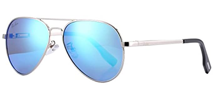 Pro Acme Unisex Adult and Junior - Small Aviator Sunglasses