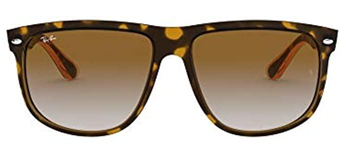 Ray-Ban Unisex Boyfriend - Square Large Flat Top Sunglasses