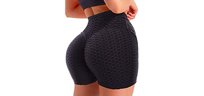 Seasum Women's Tik Tok - Shorts for a Flat Bum