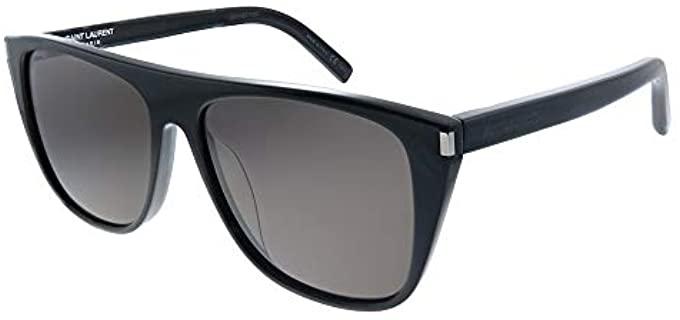Saint Laurent Unisex SL1/F - Large Sunglasses with a Flat Top
