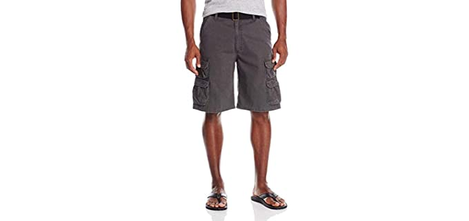 Wrangler Men's Authentics - Shorts for Big Thighs