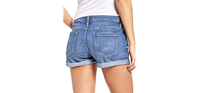 Shorts for a Flat Bum