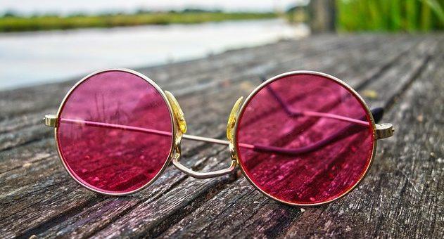 small round metal sunglasses