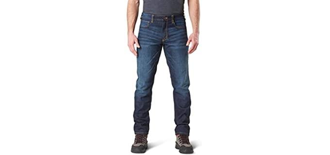 5.11 Tactical Men's defender Flex - Jeans for Concealed Carry