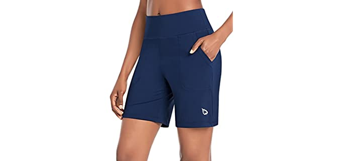 Baleaf Women's Athletic - Shorts for a Muffin Top