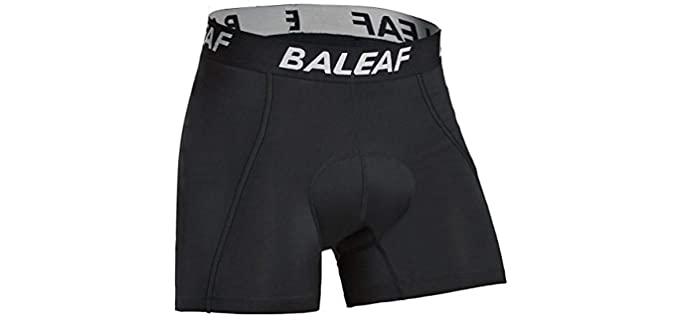 Baleaf Men's 3D - Padded Shorts