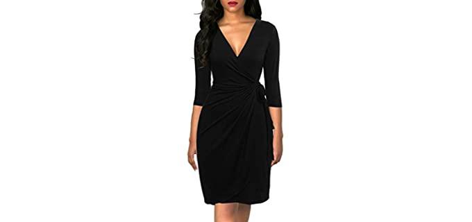 Berydress Women's Classic - Dress for Broad Shoulders