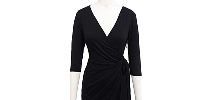 dress for Broad Shoulders