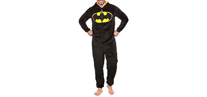 DC Comics Men's Batman - Fleece Onesie Pyjamas