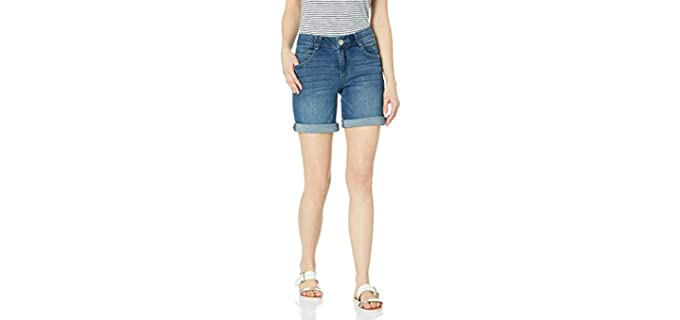 Democracy Women's Ab Solution - Shorts for Long Legs
