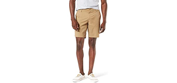 Dockers Men's Straight Fit - Shorts for Long Legs