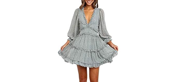 Dootoo Women's Spring - Large Bust Dress