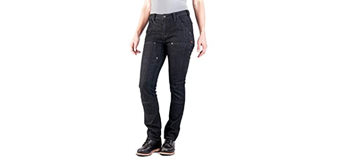 Dovetail Women's Utility - Work Jeans for Concealed Carry