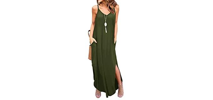 Grecerellie Women's Summer - Dress for a Dinner Date