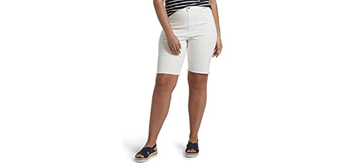 Hue Women's Ultra Soft - Shorts for a Muffin Top