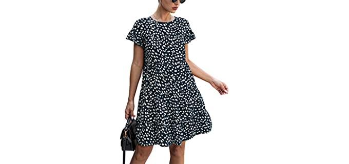 Kirundo Women's 2021 - Broad Shoulders Dress