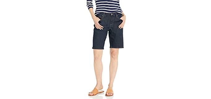 Lee Women's Relaxed Fit - Flat Bum Shorts