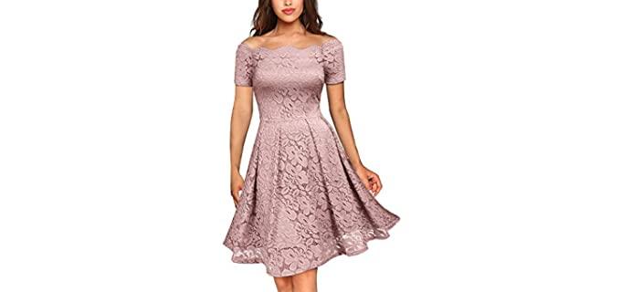 Missmay Women's Vintage - Dress for Engagement Pictures