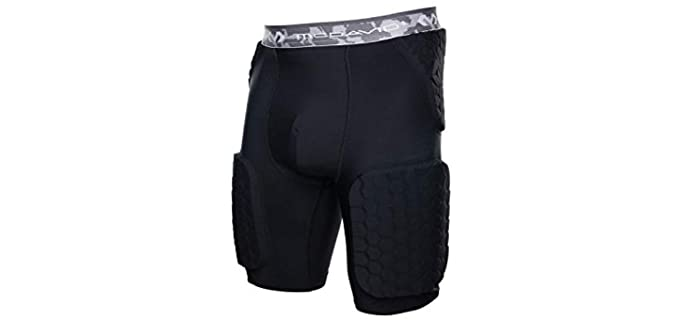 McDavid Men's Compression - Padded Shorts