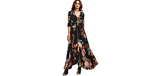 Milumia Women's Button Up - Church Dress