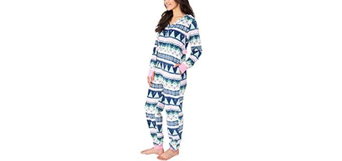 Munki Munki Women's Hooded - Winter Pyjamas