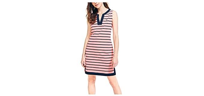Nautica Women's Breton - Broad Shoulders Dress