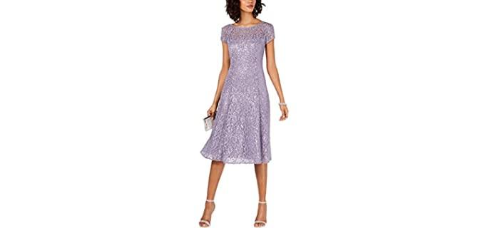 S.L Fashions Women's Sequin - Engagement Pictures Dress
