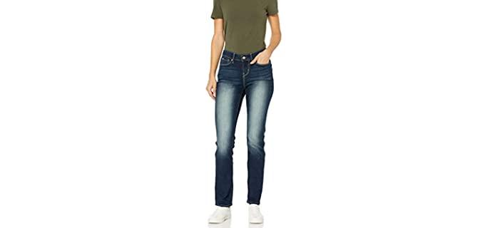 Levi Women's Signature Gold - Jeans for a Curvy Petite
