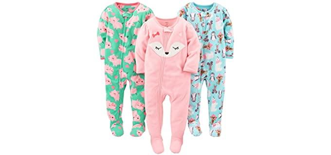 Simple Joys Baby Girl's Carter's - Baby Onesie Pyjamas