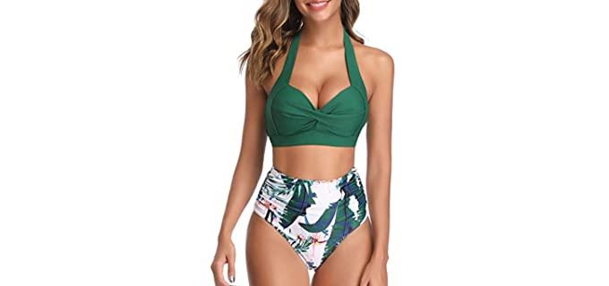 Tempt Me Women's  - Swimsuit for a Short Torso