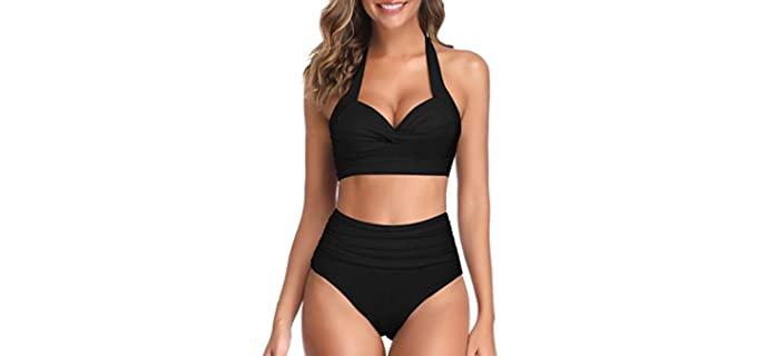Tempt Me Women's Vintage - Bikini for a Large Bust