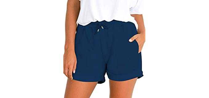 Tengo Women's Beach - Shorts for Skinny Legs