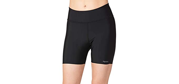 Terry Women's  - Shorts with Padding