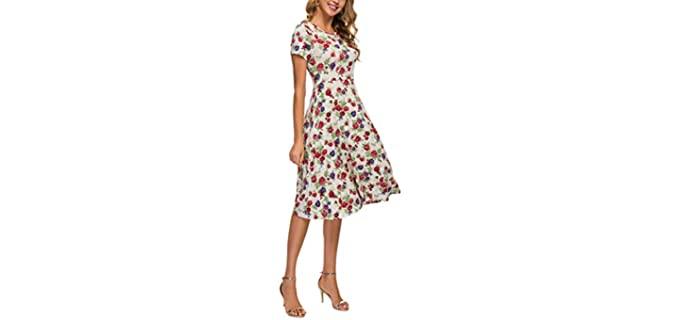 Urban CoCo Women's summer - Dress for Church