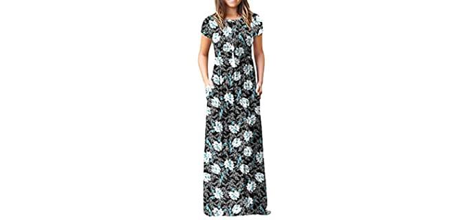 Viiishow Women's Empire - Dress for Church
