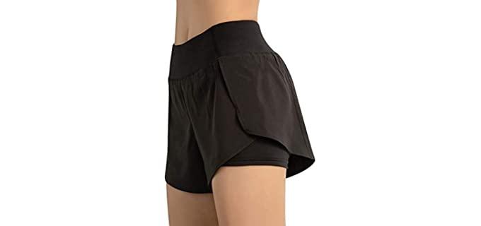Motley Women's Premium - Built in Underwear Shorts