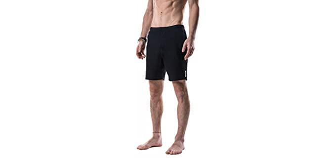 Yoga Crow Men's Swerve - Shorts for Hot Yoga