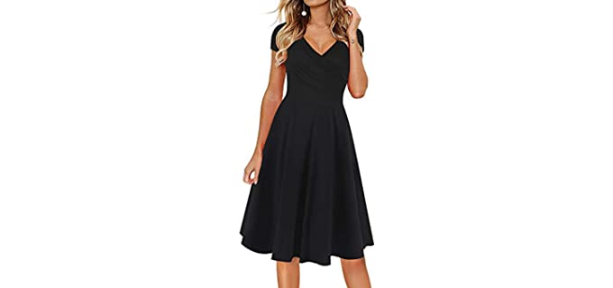 Oxiuly Women's Casual - Large Bust Dress