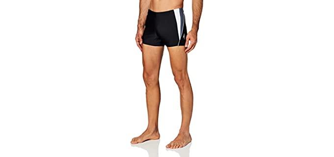 Speedo Men's square Leg - Athletic Build Swimsuit